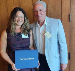 Paul Harris award recipients